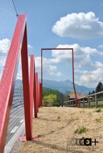 CRR Ripreso-dettaglio recinzione-cartello eventi